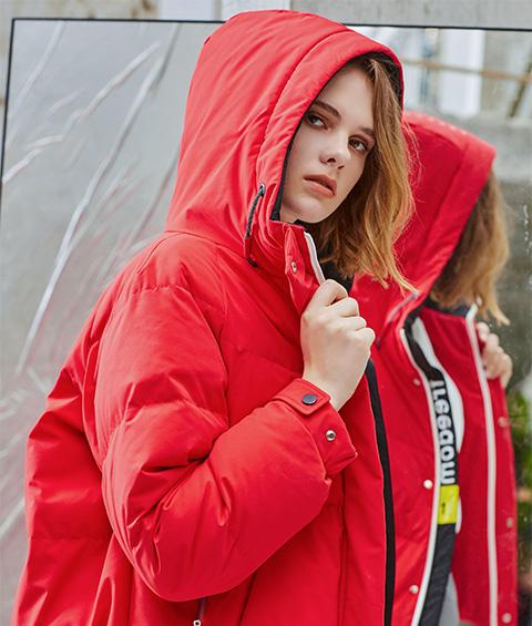 AAAA4F4A4554 1 Womens Sports Basic Hoodie Short Down Jacket 5